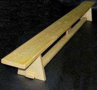 Скамейка гимнастическая с деревянными ножками